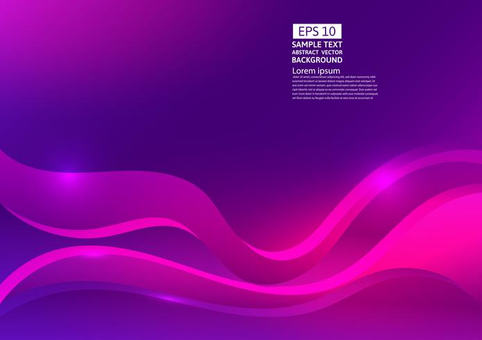 Colorful wave abstract background. Fluid gradient shapes composition modern design