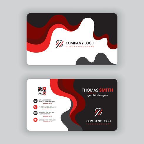 Vektor-Kartenvorlage