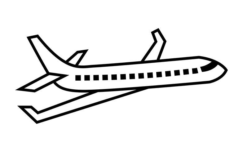 Flugzeug fliegen Vektor Icon - Download Kostenlos Vector, Clipart Graphics,  Vektorgrafiken und Design Vorlagen