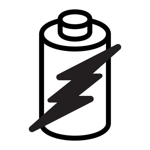Batteri Energi vektor ikon