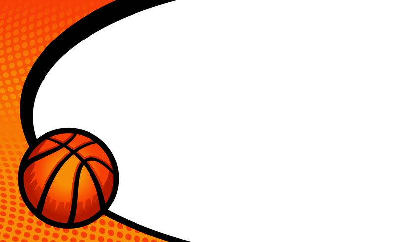 Basketball-Vektor