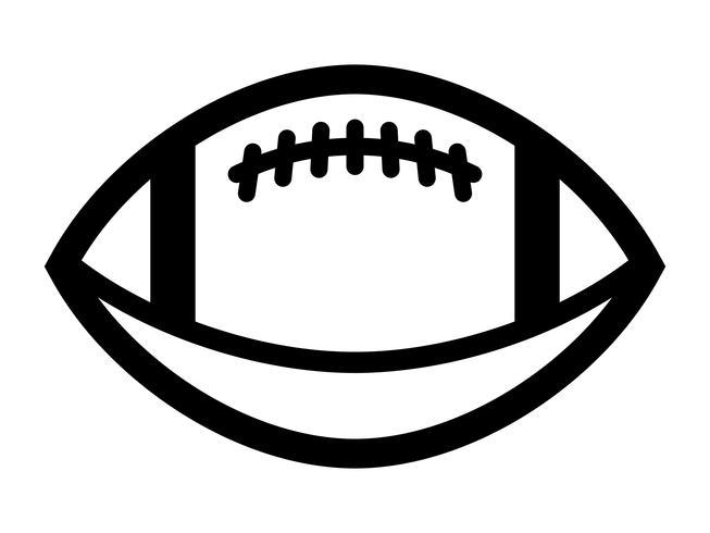 American Football Vector Icon Download Free Vectors