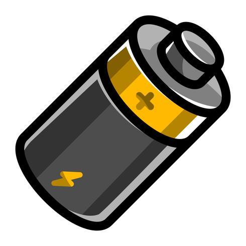 Icona di vettore di energia della batteria