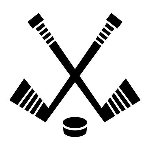 Hockey Stick & Puck vektor designHockey Stick & Puck vektor design