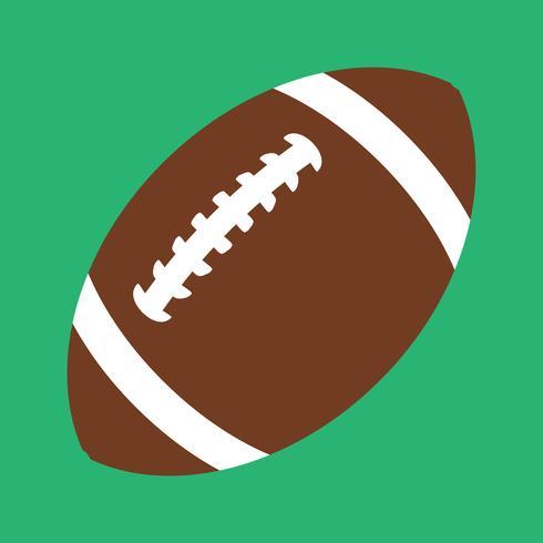 American Football-Vektor-Symbol