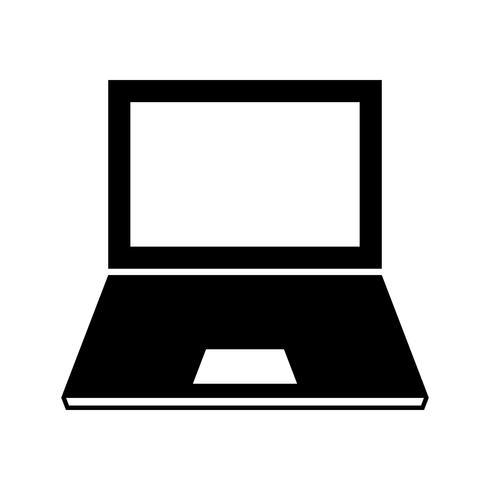Bärbar dator vektor ikon