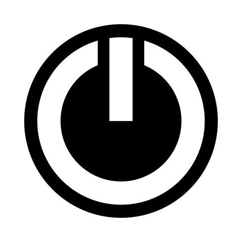 Symbole de puissance Vector Icon