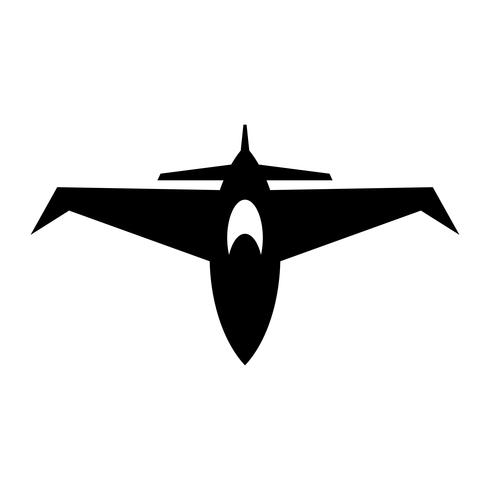Icona di vettore del combattente