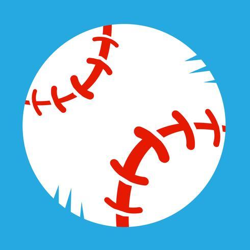 Honkbal vector pictogram