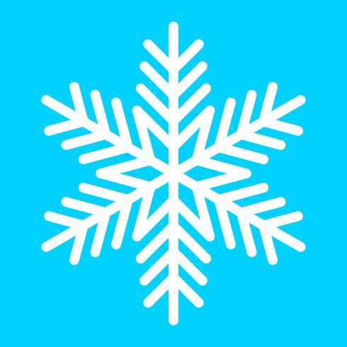 Icono de Vector de copo de nieve