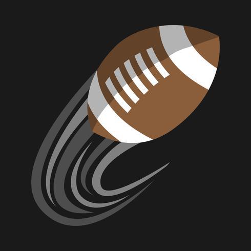 Icona di vettore di football americano