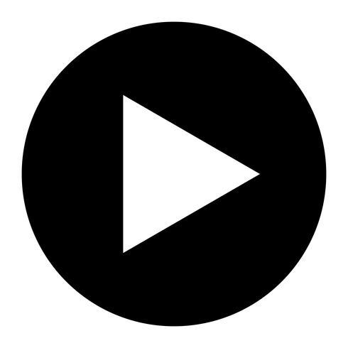 Play Symbol Vector Icon