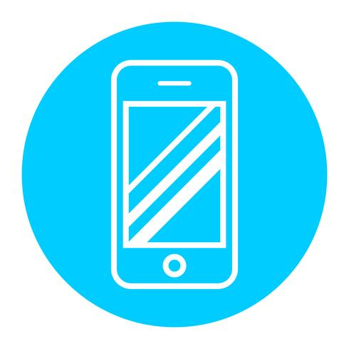 Smart phone vector icon