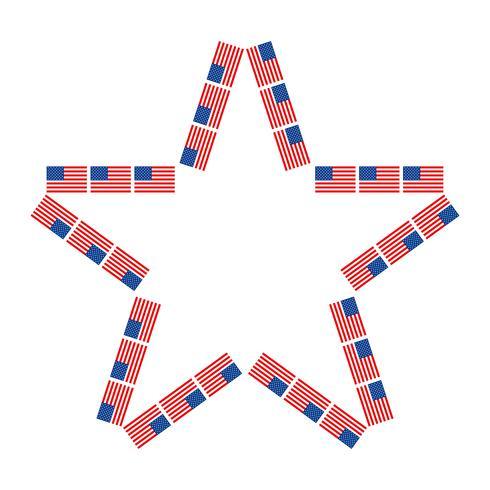 Amerikaanse vlaggen