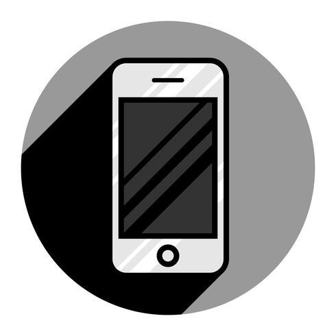 Icône de vecteur de téléphone intelligent