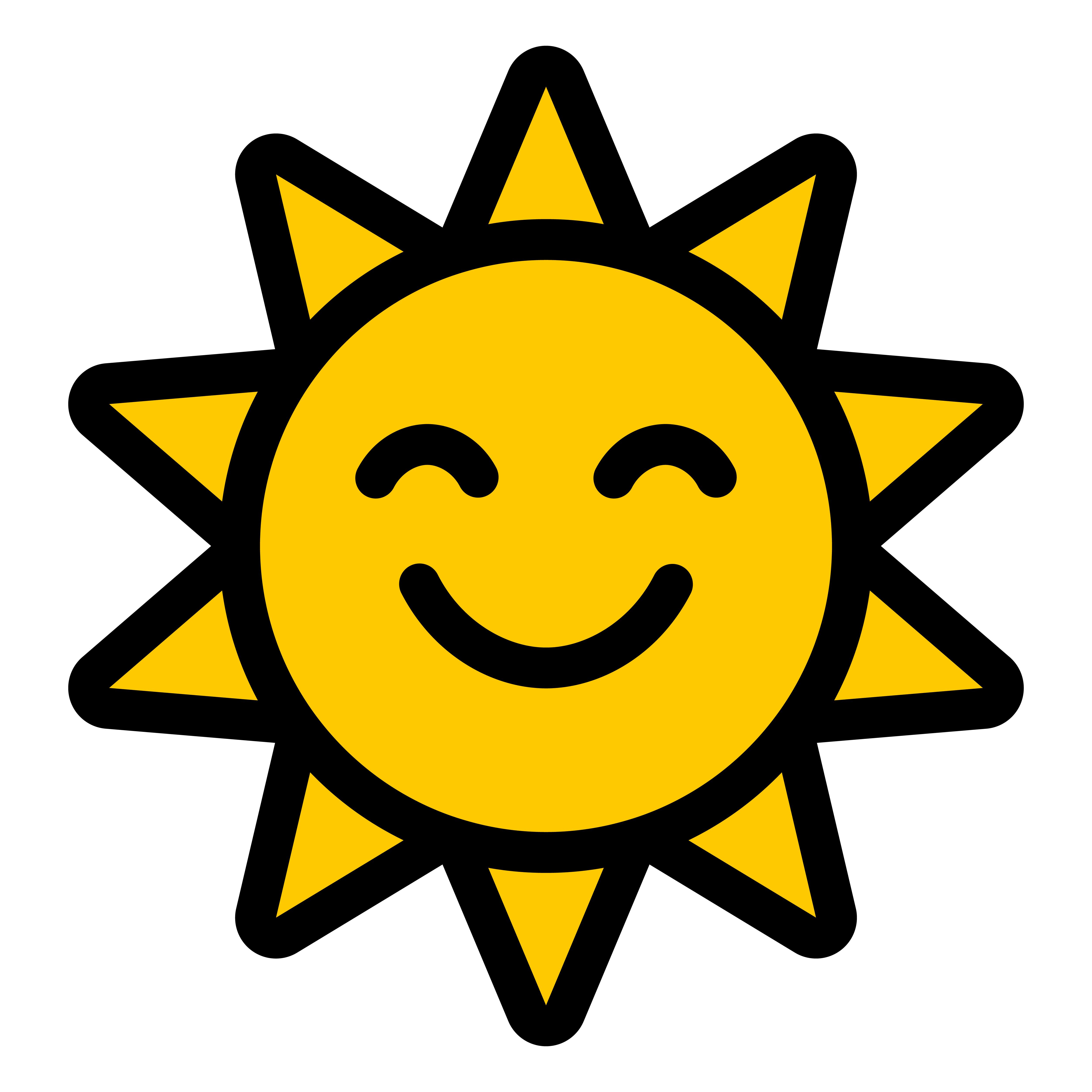 Cartoon Sun Vector - Download Free Vector Art, Stock ...