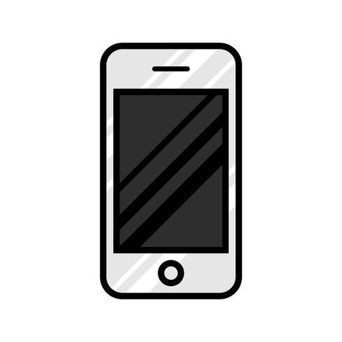 Icona di vettore del telefono intelligente