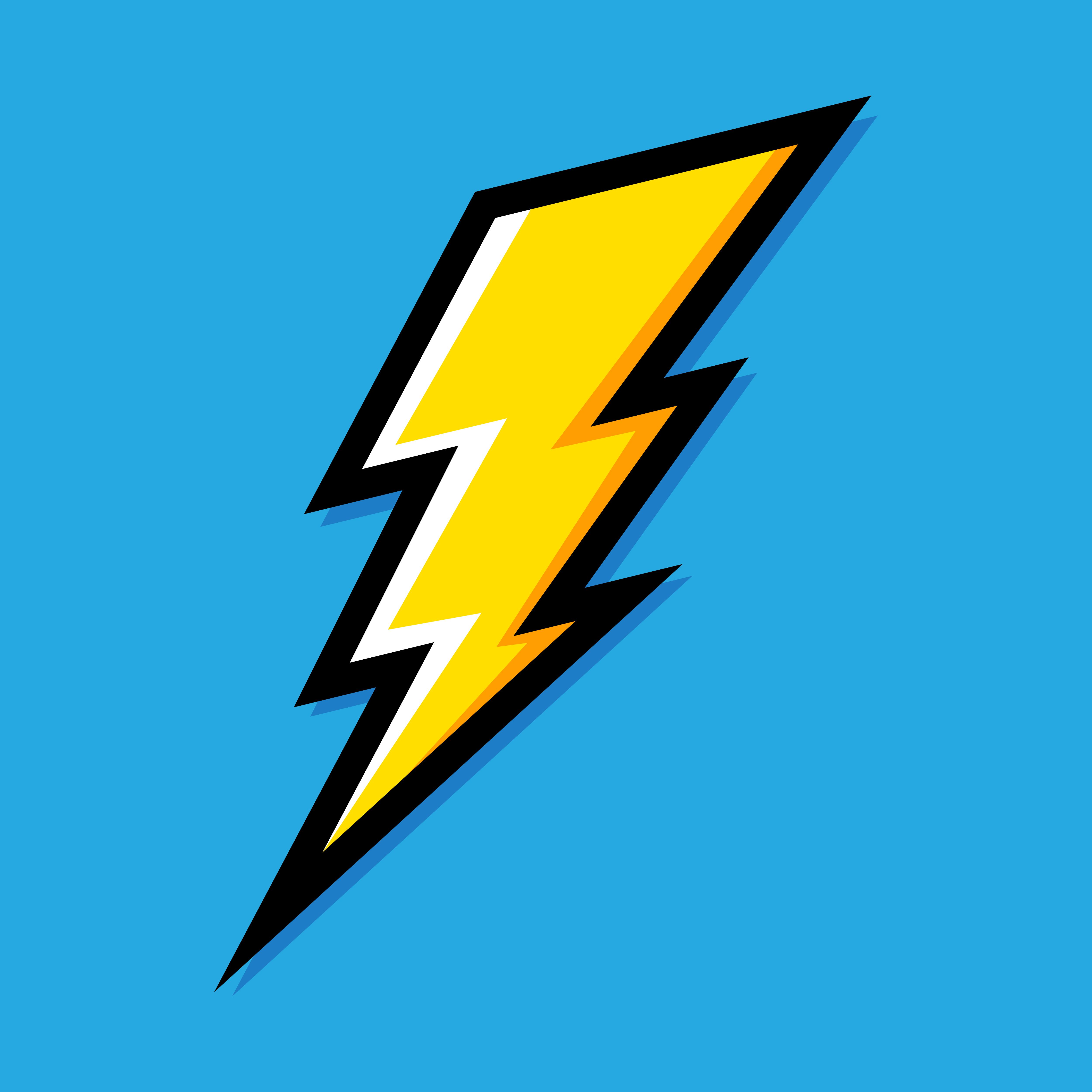 """Black Lightning Bolts 10"""" - embroidered reflective patch ...   Lightning Bolt Design"""