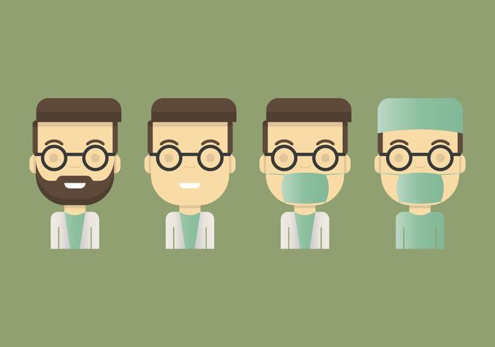Conjunto de caracteres de saúde