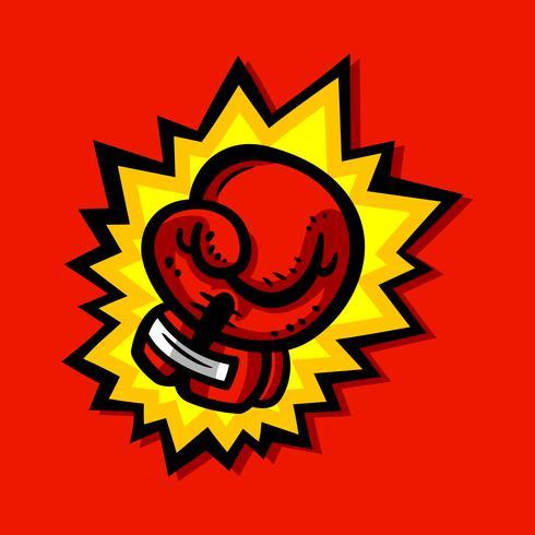 Guantes de boxeo punzonado
