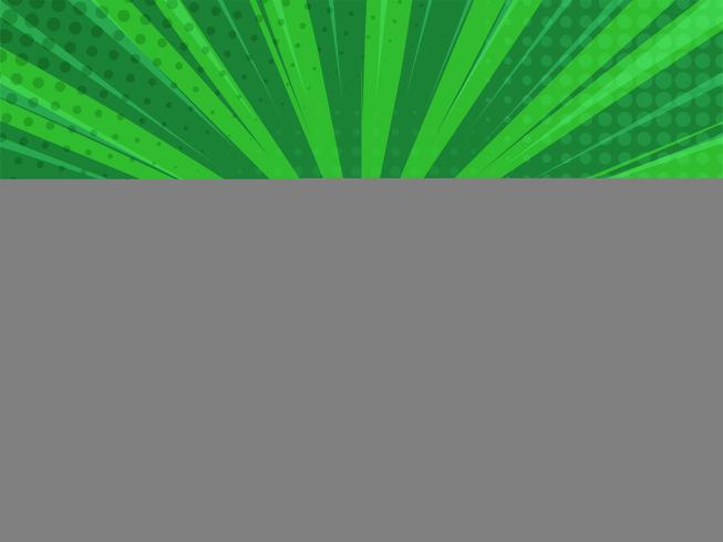 Abstack grön bakgrund tecknad stil. BigBamm eller solljus.