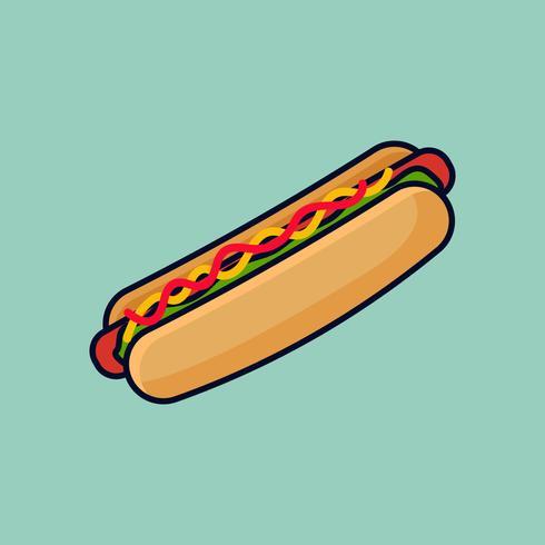Hotdog-Abbildung