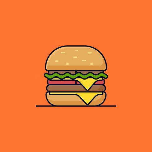Hamburger doppio formaggio