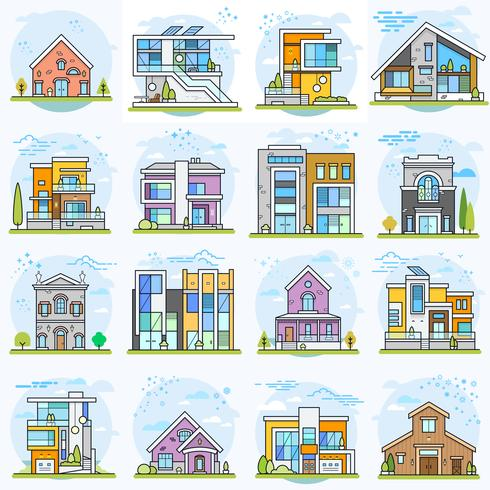 Häuser.