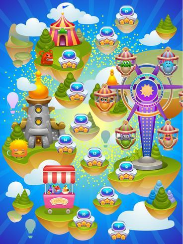 Mapa do jogo.