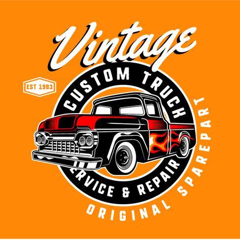 Camion vintage personalizado