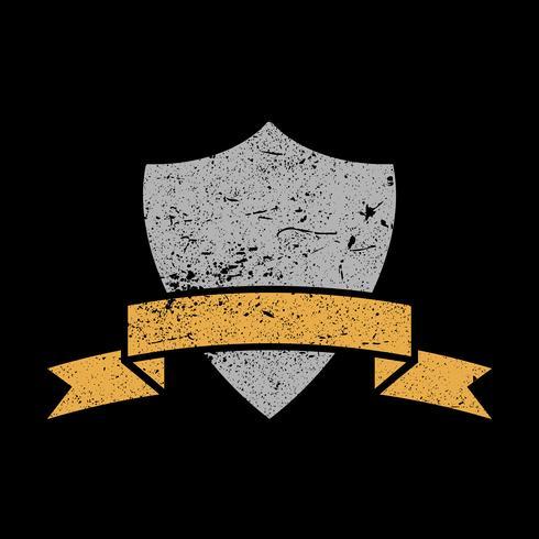 Schild crest vector pictogram
