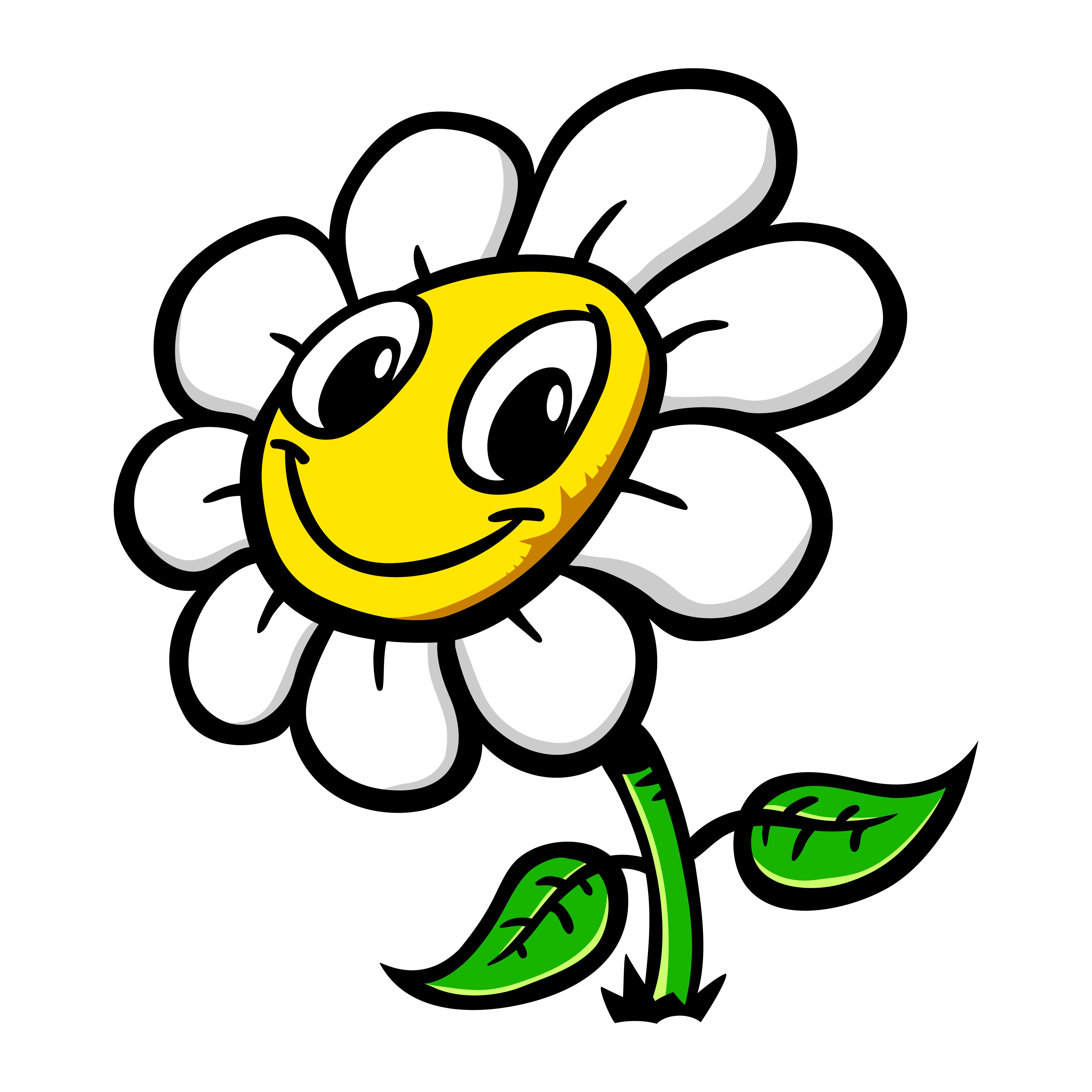 Cartoon Flower - Download Free Vectors, Clipart Graphics ... (5000 x 5000 Pixel)