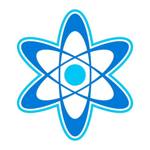 Dynamic Atom Molecule Science Symbol vector icon
