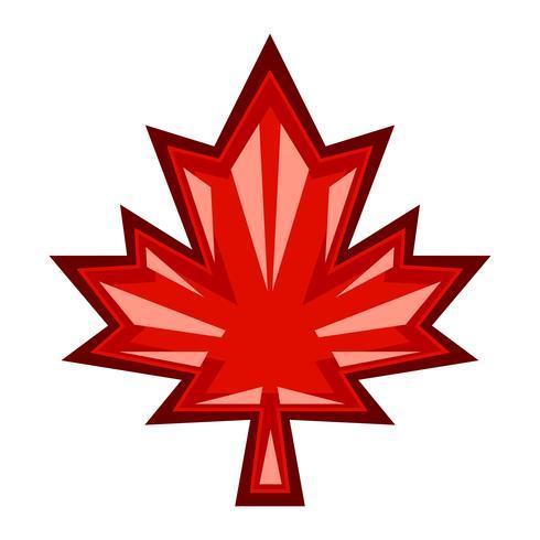 Autumn Maple Leaf-Vektor-Logo