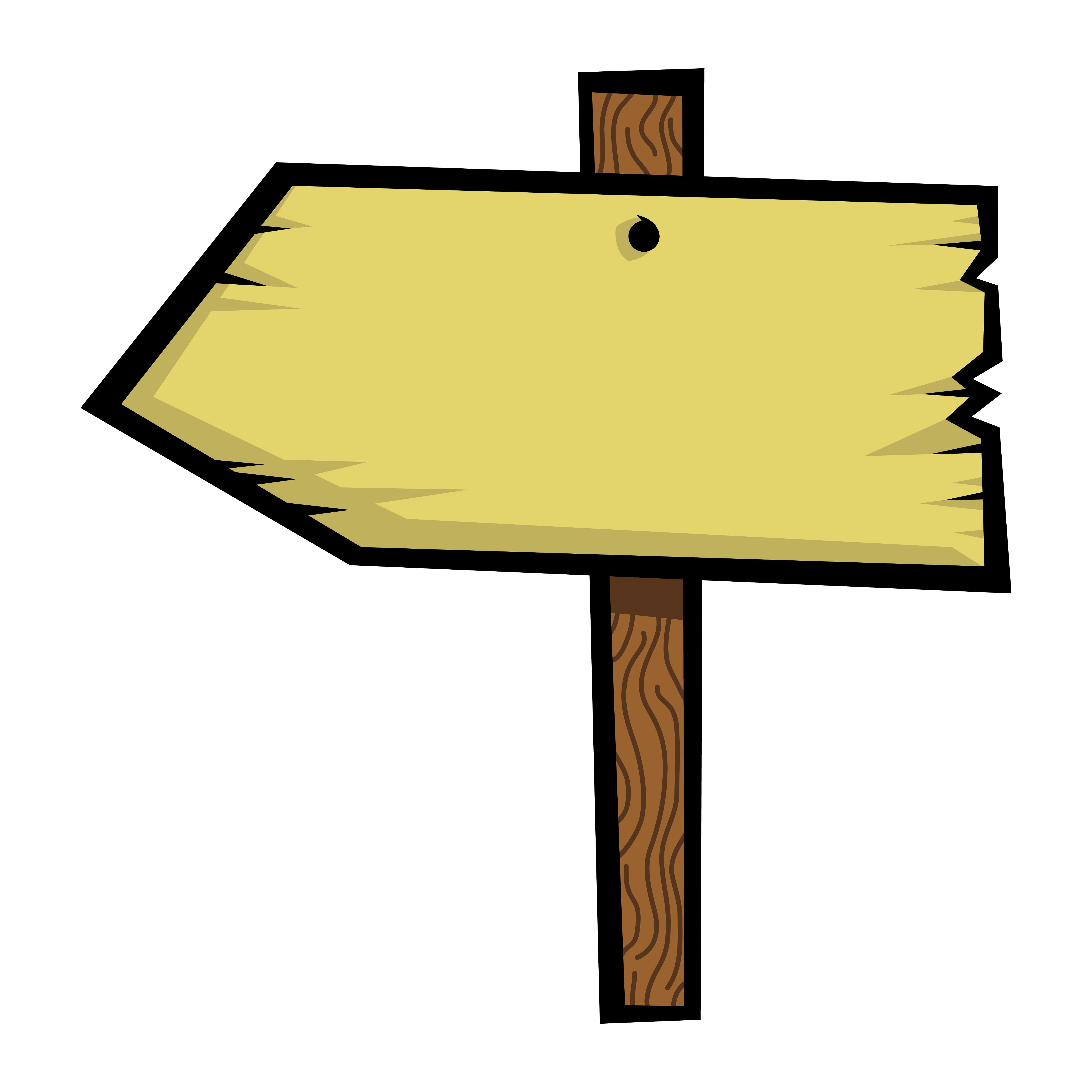 Ancienne icône de vecteur de panneau en bois - Telecharger ...