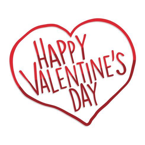 Glad hjärtans dag hjärta