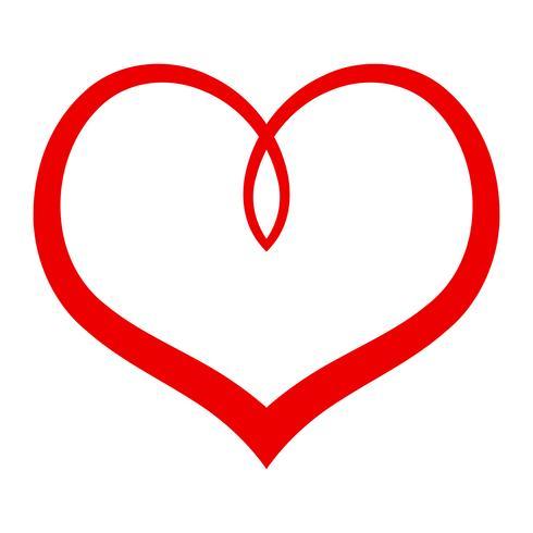 Hjärta Romantisk Kärlek grafisk