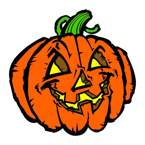 Jack O'Lantern vector illustration