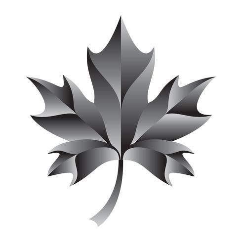 Herfst Maple Leaf vector logo