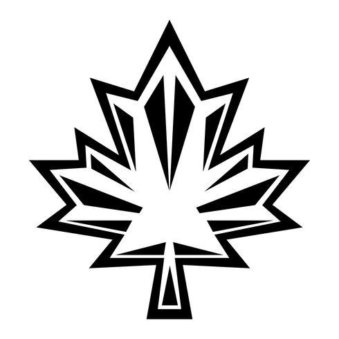 Autumn Maple Leaf vector logo