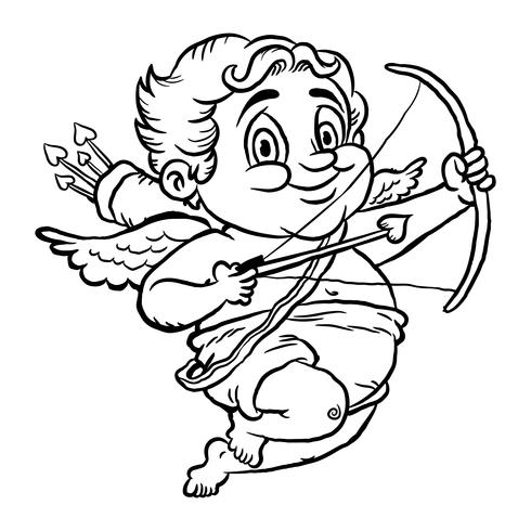 Cupid vector illustration