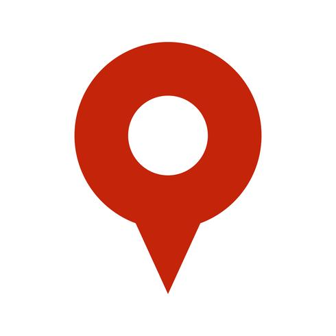 Geo Location Pin vector icon