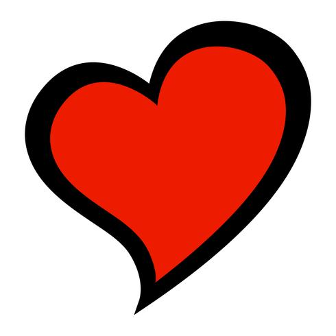 Herz-romantische Liebesgraphik - Download Kostenlos Vector ...