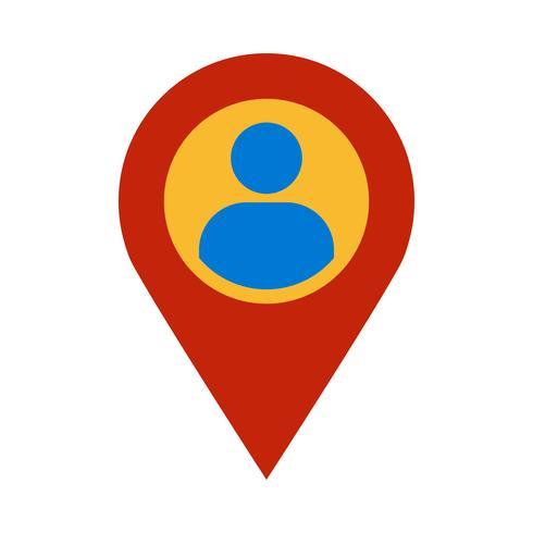 Geo Location Pin vector icon