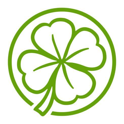 Lucky Irish Clover voor St. Patrick's Day