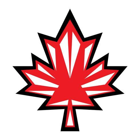 Logo vectoriel automne feuille d'érable