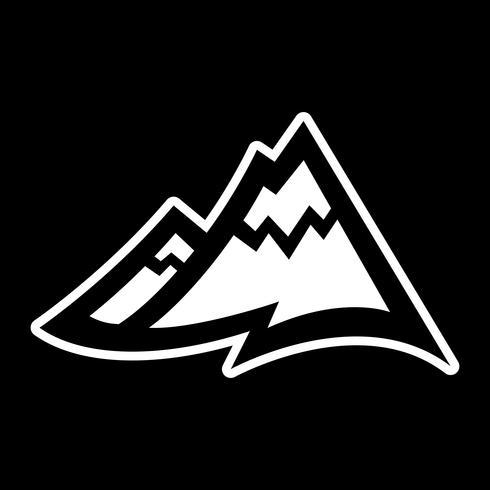 Mountain Range vektor ikon