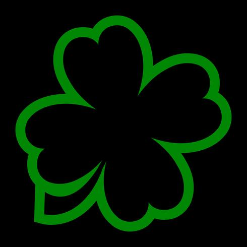Lucky Irish Clover for St. Patrick's Day