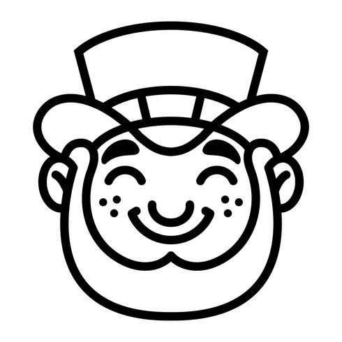 Leprechaun cartoon vector illustration