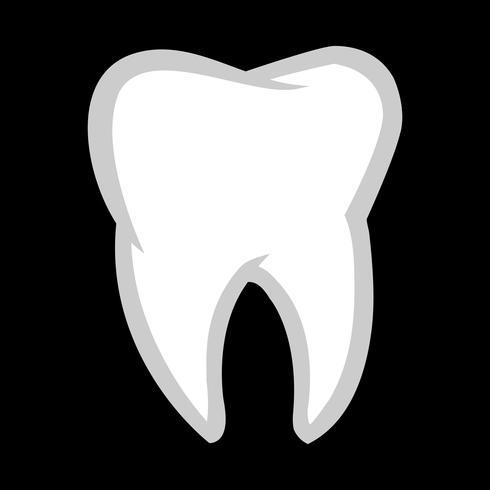 Icône de vecteur de dent